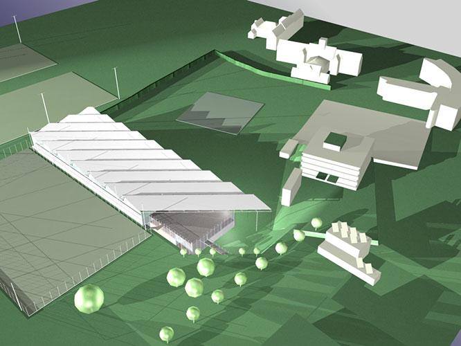 Indoor cricket centre Loughborough