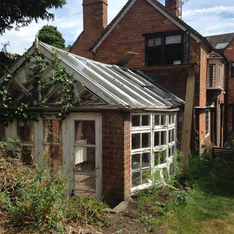 Previous Extension Before Demolition Barford