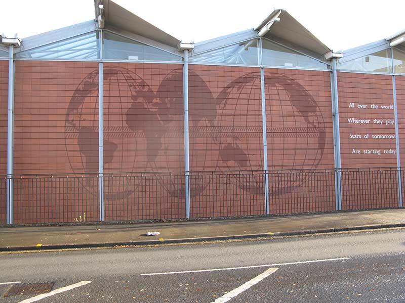 Edgbaston ICC Artistic Facade Birmingham