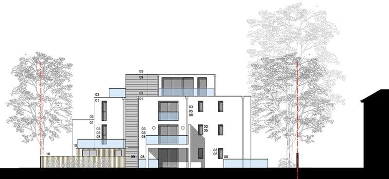 Brook House Side-Elevation