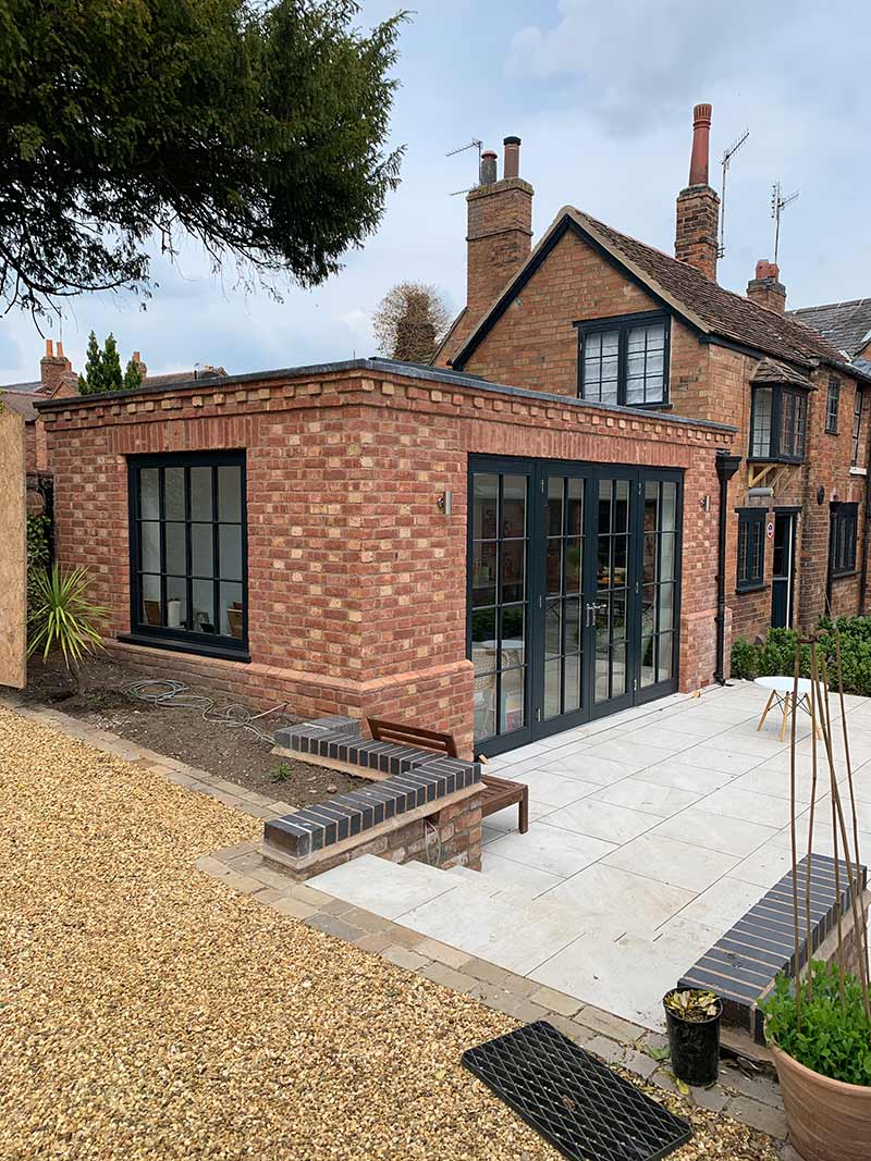 External view of the completed Barford extension projectBarford