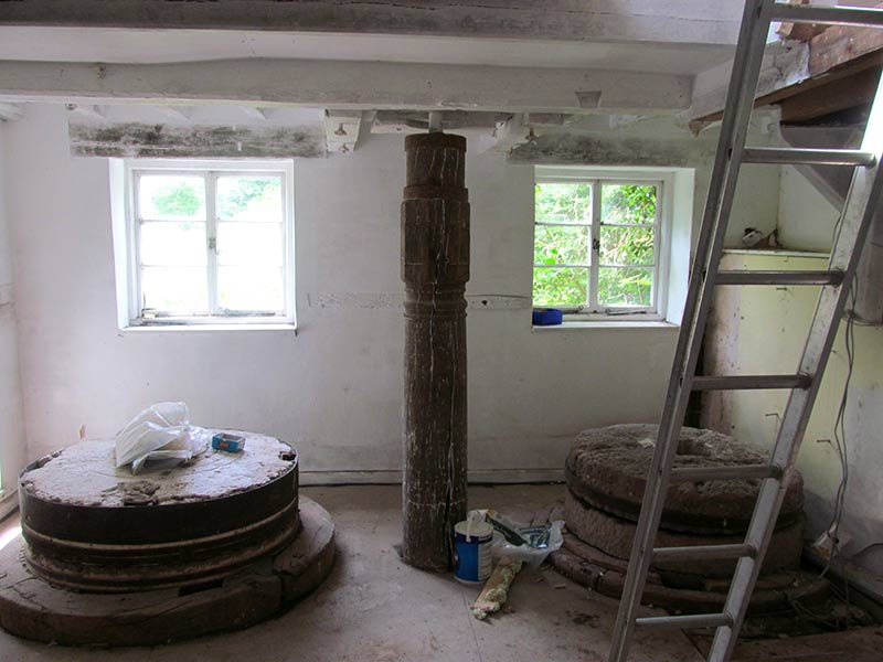 Water Mill Internal Stone Room Before