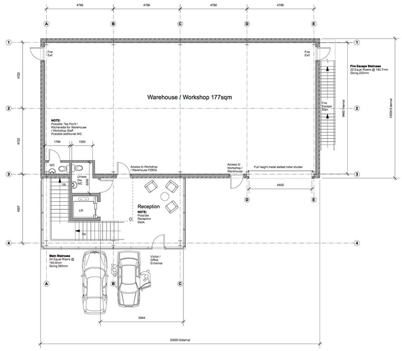New Commercial Premises Adey Ground-Plan