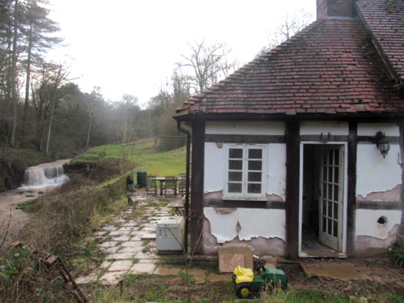 Water Mill External with Brook