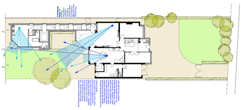 Four-Oaks Plan Of Proposed Views Surveilance