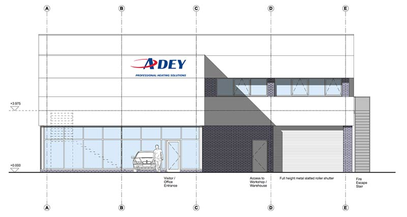 Adey Parapet Front-Elevation