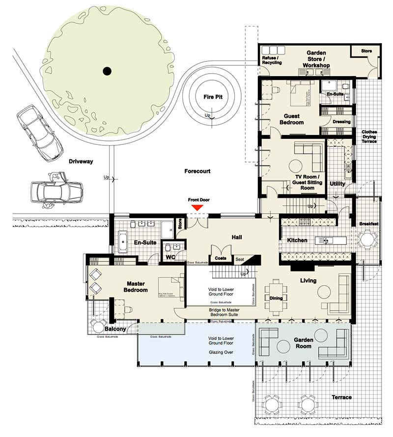 Trimpley Level 2 Upper Ground
