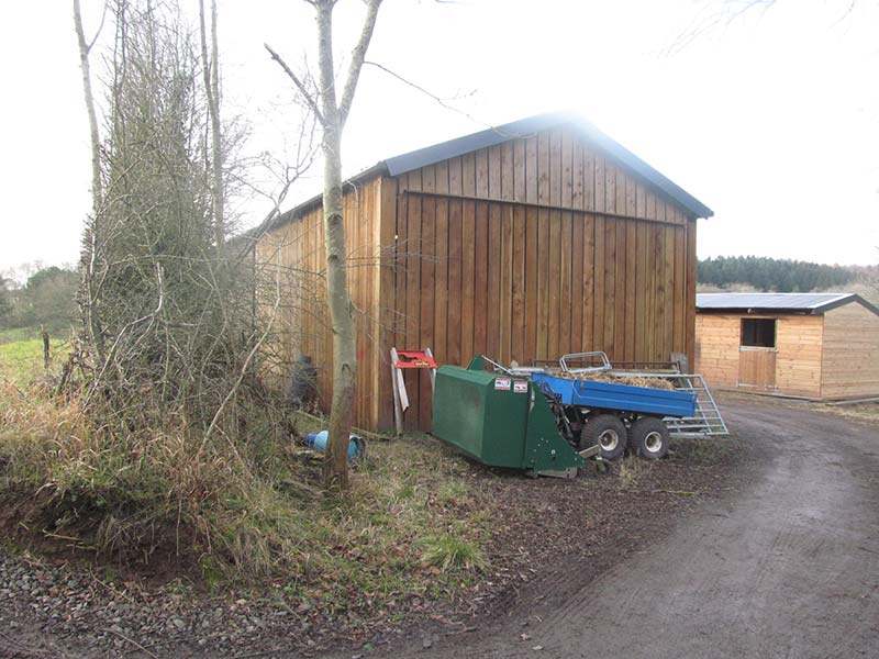 Hope Barn North Elevation