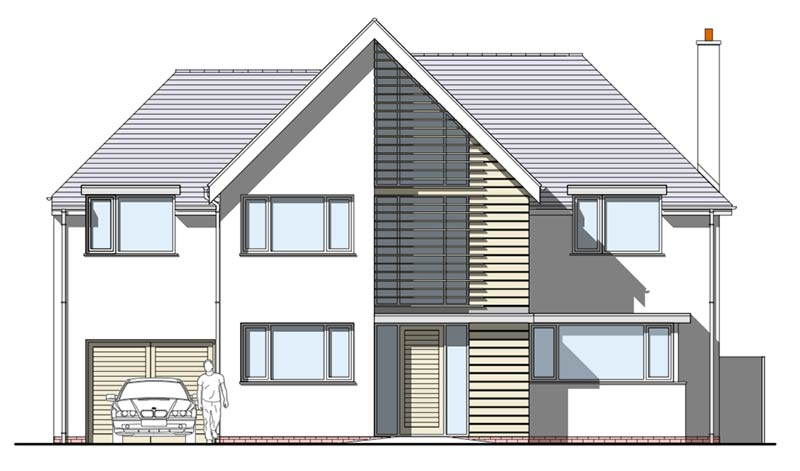 Four-Oaks Front-Elevation Proposed