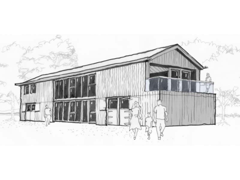 Hope Barn Sketch Featured