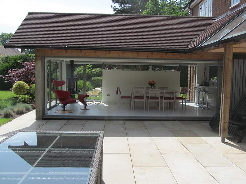 kitchen-diner extension exterior view