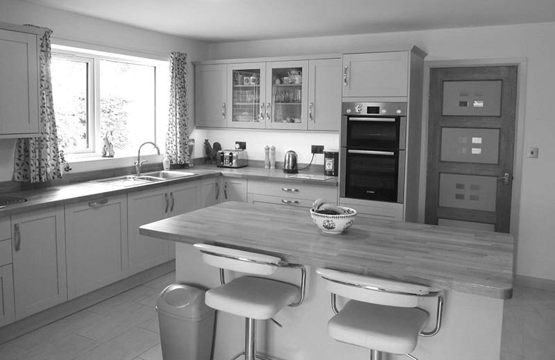 Ladywood kitchen after refurbishment