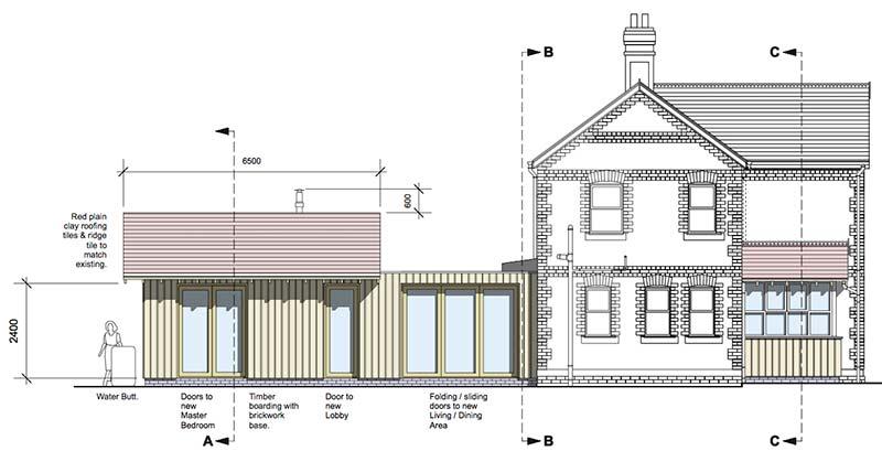 Elmbridge Side-Elevation