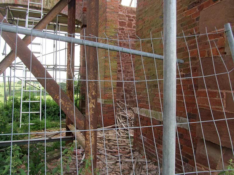 Construction Site Collets Barn Warwickshire