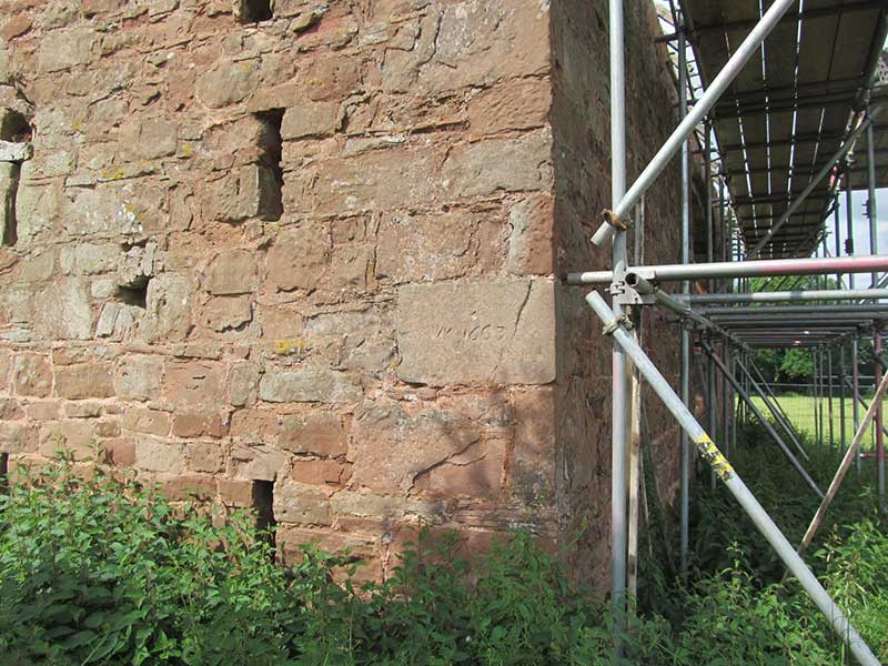 1663 Brick Collets Barn Warwickshire