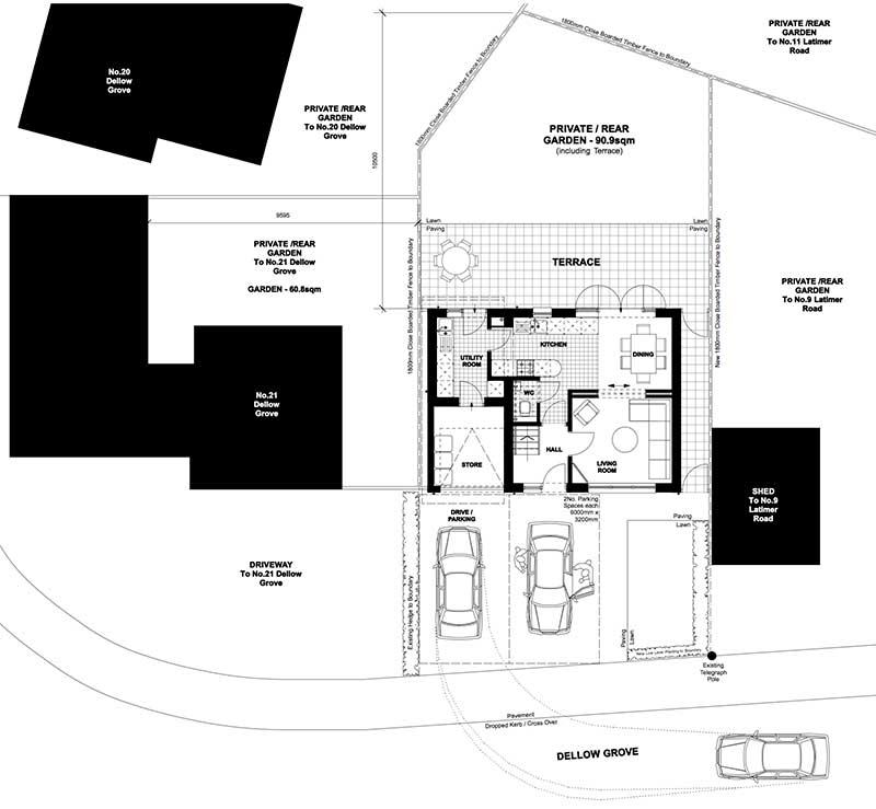 Dellow Site Plan