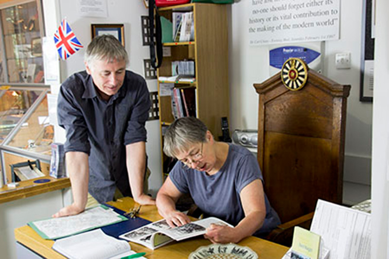 Visitors Smethwick Heritage Centre