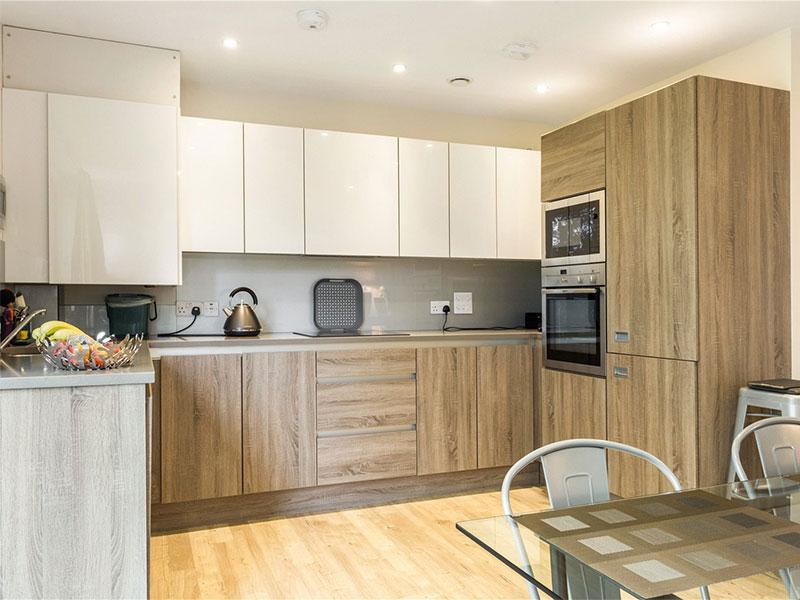 Brook House Penthouse Kitchen Cheltenham